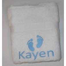 gratis handdoek wit