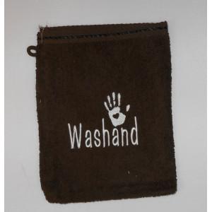 gratis washand bruin