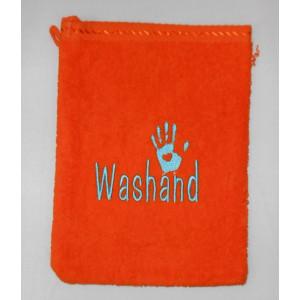 gratis washand oranje