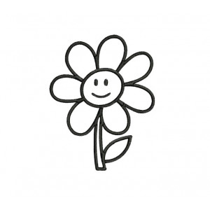 borduurpatroon bloem3