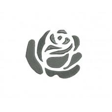 borduurpatroon roos