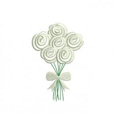 borduurpatroon rozen