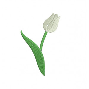 borduurpatroon tulp