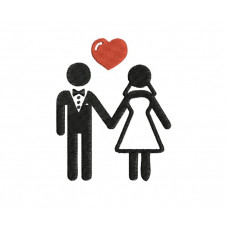 borduurpatroon bruiloft3