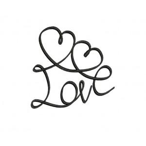 borduurpatroon love
