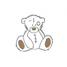 borduurpatroon dier beer1
