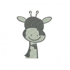 borduurpatroon dier giraf