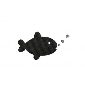 borduurpatroon dier goudvis