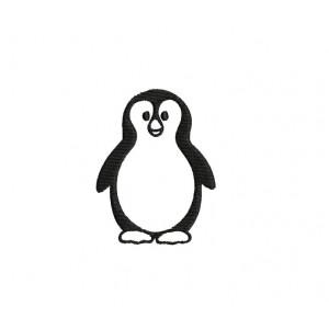 borduurpatroon dier pinguïn