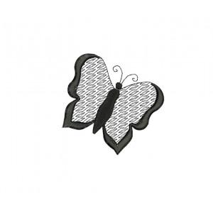 borduurpatroon dier vlinder2