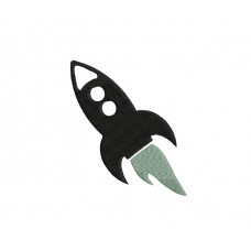 borduurpatroon voertuig raket1