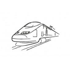 borduurpatroon voertuig trein2