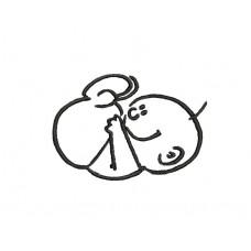 borduurpatroon baby