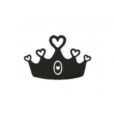 borduurpatroon kroon3