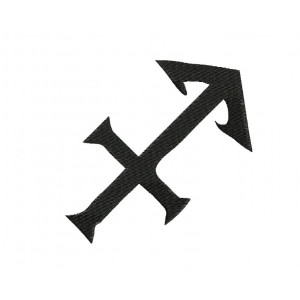 borduurpatroon sterrenbeeld boogschutter