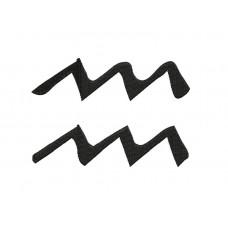 borduurpatroon sterrenbeeld waterman