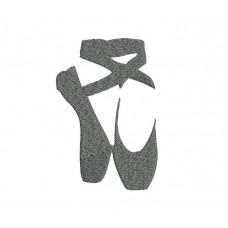 borduurpatroon balletschoenen