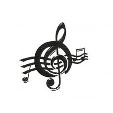 borduurpatroon muzieknoot2