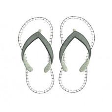 borduurpatroon slippers