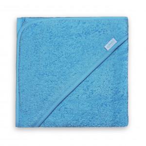 Badcape Blauw XL