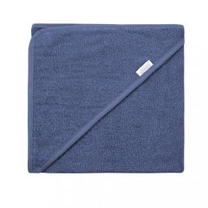 Badcape Jeansblauw