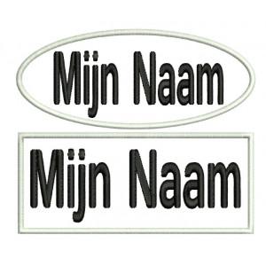 Naam Badge