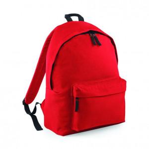Fashion Rugzak Bright Red Black