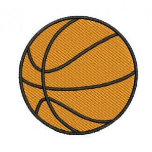 Borduurpatroon basketbal
