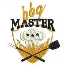 Borduurpatroon BBQ master