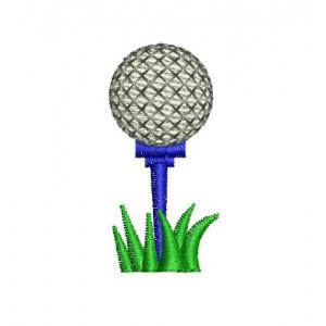 Borduurpatroon golfbal