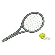 Borduurpatroon Tennis