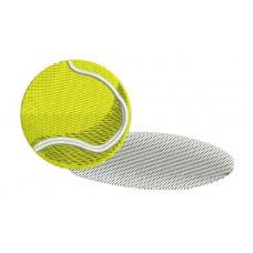 Borduurpatroon Tennisbal