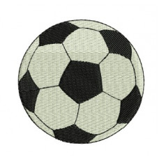 Borduurpatroon voetbal