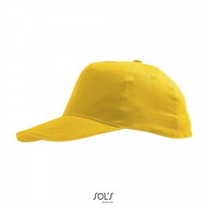 Kindercap geel