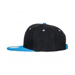 Snapback Contrast cap zwart blauw
