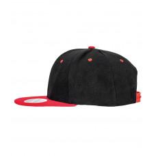 Snapback Contrast cap zwart rood
