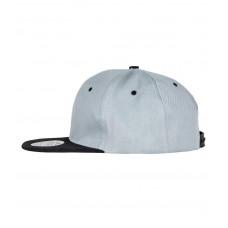 Snapback Contrast cap grijs zwart