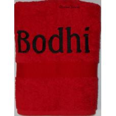 Handdoek Rood
