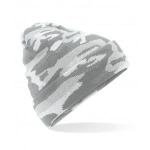 Beanie Camouflage grijs