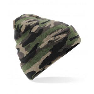 Beanie Camouflage groen