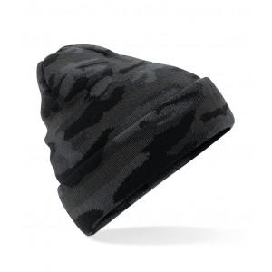 Beanie Camouflage zwart