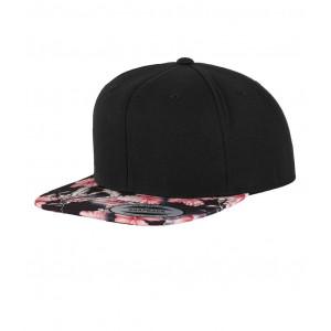 Floral Snapback cap bloem