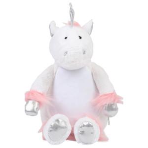 Zippie knuffel Unicorn white