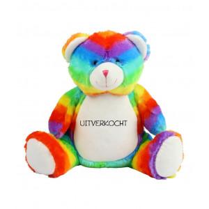 Zippie knuffel Rainbow Bear