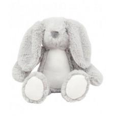 Knuffel hoodie Bunny grijs