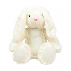 Knuffel buik mini Bunny wit