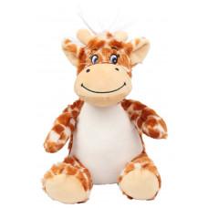 Knuffel buik mini Giraffe