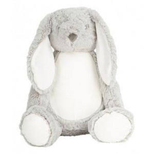 Zippie knuffel Bunny gray XL