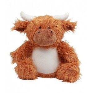 Zippie mumbles knuffel Highland Cow