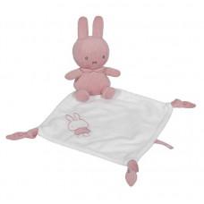 Knuffeldoek Nijntje rib Pink